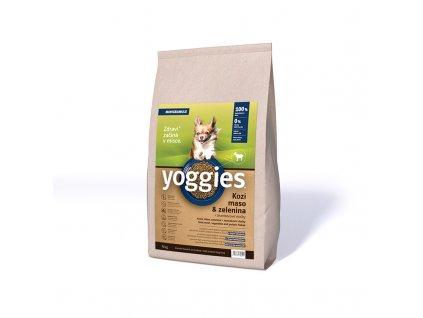 4kg yoggies hypoalergenni minigranule pro psy s kozim masem lisovane za studena
