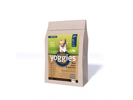 1 2kg yoggies hypoalergenni minigranule pro psy s kozim masem lisovane za studena