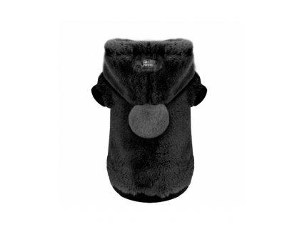 sweat fourrure yelena noir