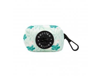 mint sakura poop bag dispenser with poop bag 2000x