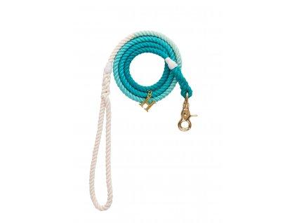 Sea Blue rope leash (2)