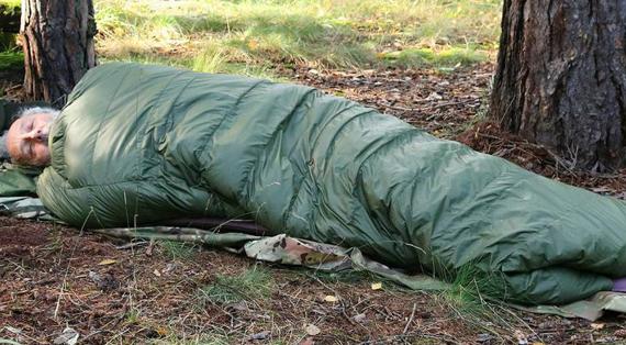 Warmpeace Quilt 300 je péřový spacák pro dobrodruhy