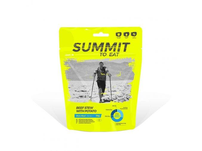Summit to Eat Dušené hovězí ve vlastní šťávě s bramborem 118g