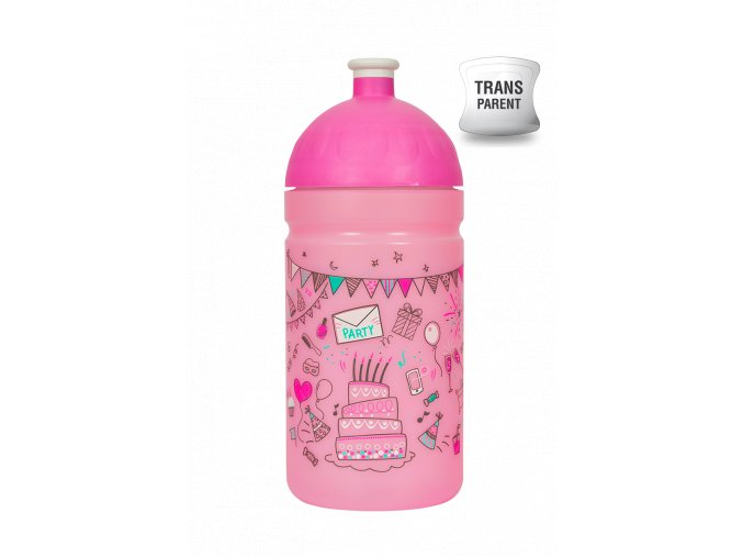 Zdravá lahev 0,5 l - párty  + náhradní zátka zdarma