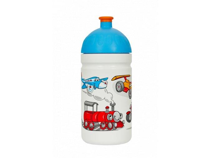 Zdravá lahev 0,5 l - veselá jízda  + náhradní zátka zdarma