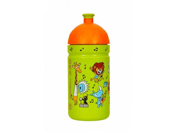 Zdravá lahev 0,5 l - ZOO kapela  + náhradní zátka zdarma