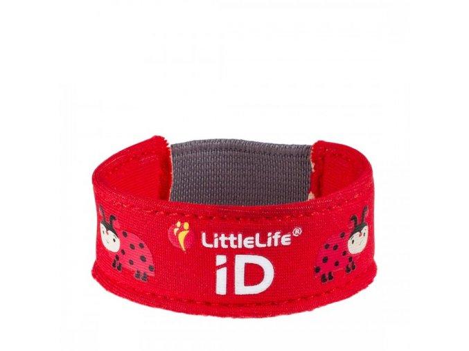 L12611 ladybird child id bracelet 1