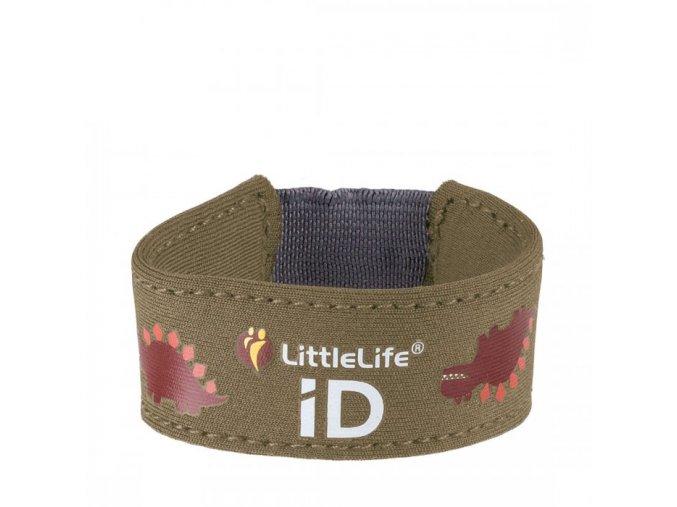 L12631 dinosaur child id bracelet 1