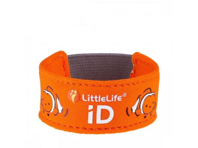 L12651 clownfish child id bracelet 1