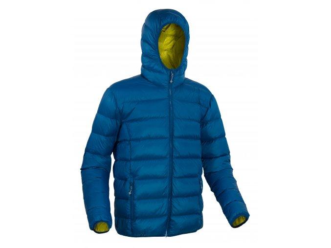 4293 Vernon jacket shadow blue mustard
