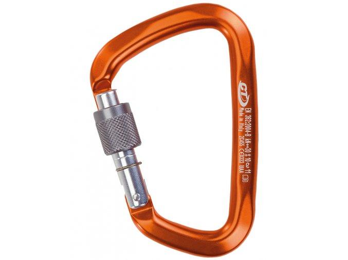 Climbing Technology Large SG orange - karabina