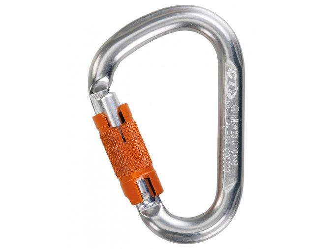Climbing Technology Snappy WG grey - karabina