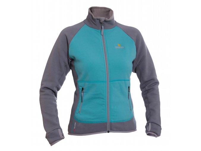 3121 Mandy lady jacket menthol frost grey 2