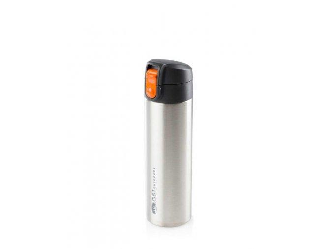 GSI outdoors Glacier Stainless Microlite 0,5l - termoska (Barva orange)
