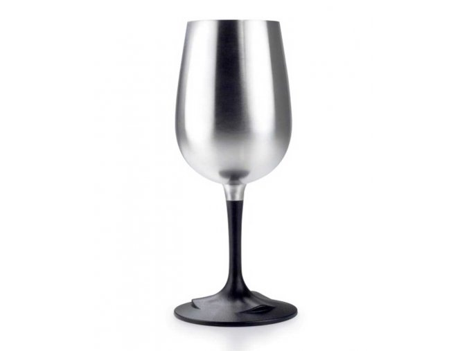 GSI outdoors Glacier Stainless Nesting Wine Glass - sklenička