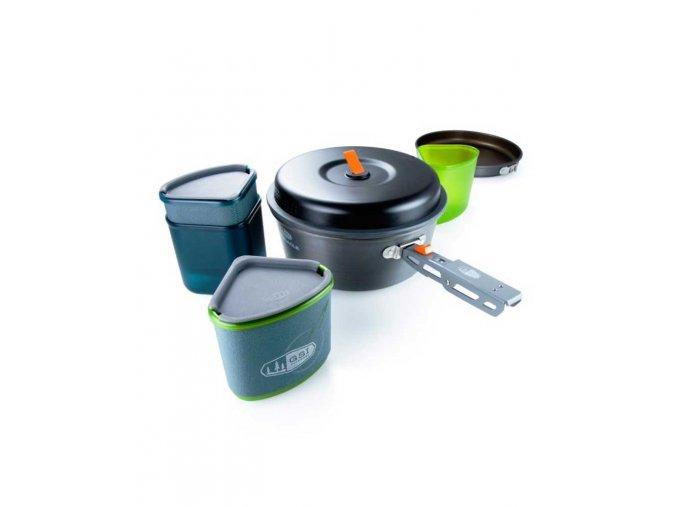 GSI outdoors Pinnacle Backpacker - sada nádobí