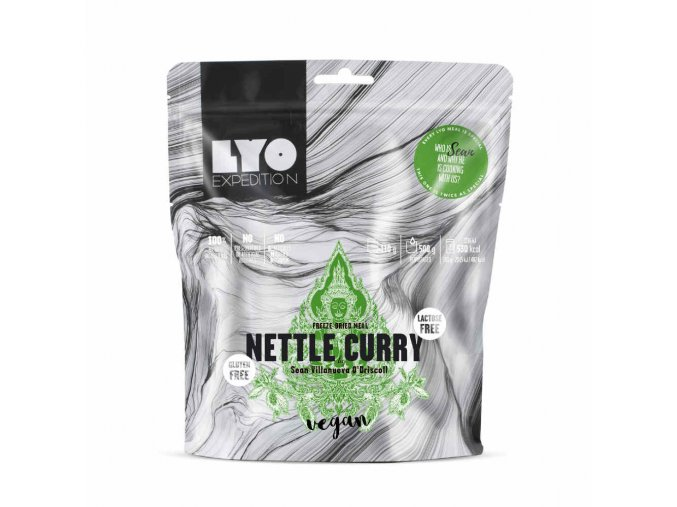LYOFOOD nettle curry 11