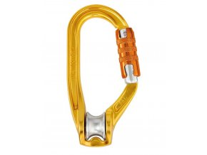 Petzl Rollclip triact-lock - karabina s kladkou