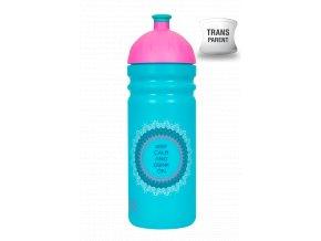 Zdravá lahev 0,7 l - mandaly  + náhradní zátka zdarma