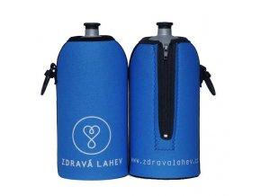 zdrava lahev termoobal modry