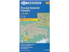 Tabacco WK 056 Piccole Dolomiti, Pasubio 1:25 000