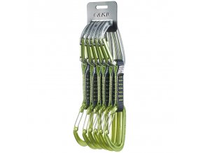 Climbing Technology 5x Lime Mix Set DY 12cm green/grey - expreska