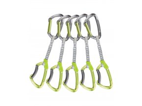 Climbing Technology 5x Lime Set DY 12cm green/grey - expreska