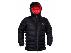 4377 Alaskan jacket black mars red
