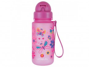 Littlelife Animal Bottle 400 ml Butterflies