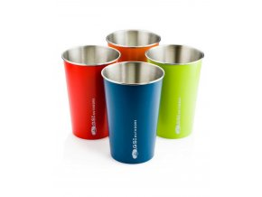 GSI outdoors Glacier Stainless Pint Set - sada hrnků