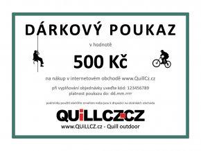 DarkovyPoukaz 500Kc