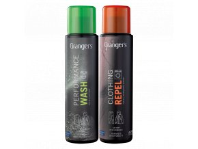 Granger's Clothing Repel + Performance Wash 300 ml x 2 - impregnace a praní