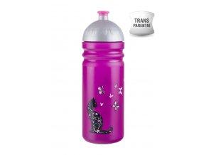 Zdravá lahev 0,7 l - kočka  + náhradní zátka zdarma