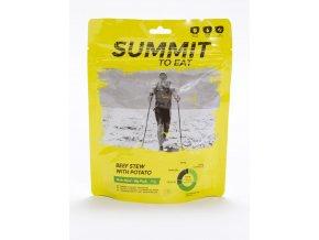 Summit to Eat Dušené hovězí ve vlastní šťávě s bramborem 190g