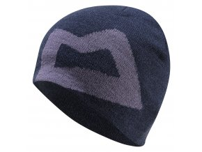 Mountain Equipment: Ws Branded Knitted Beanie | Cosmos/Welsh Slate - čepice (Barva Cosmos/Welsh Slate)