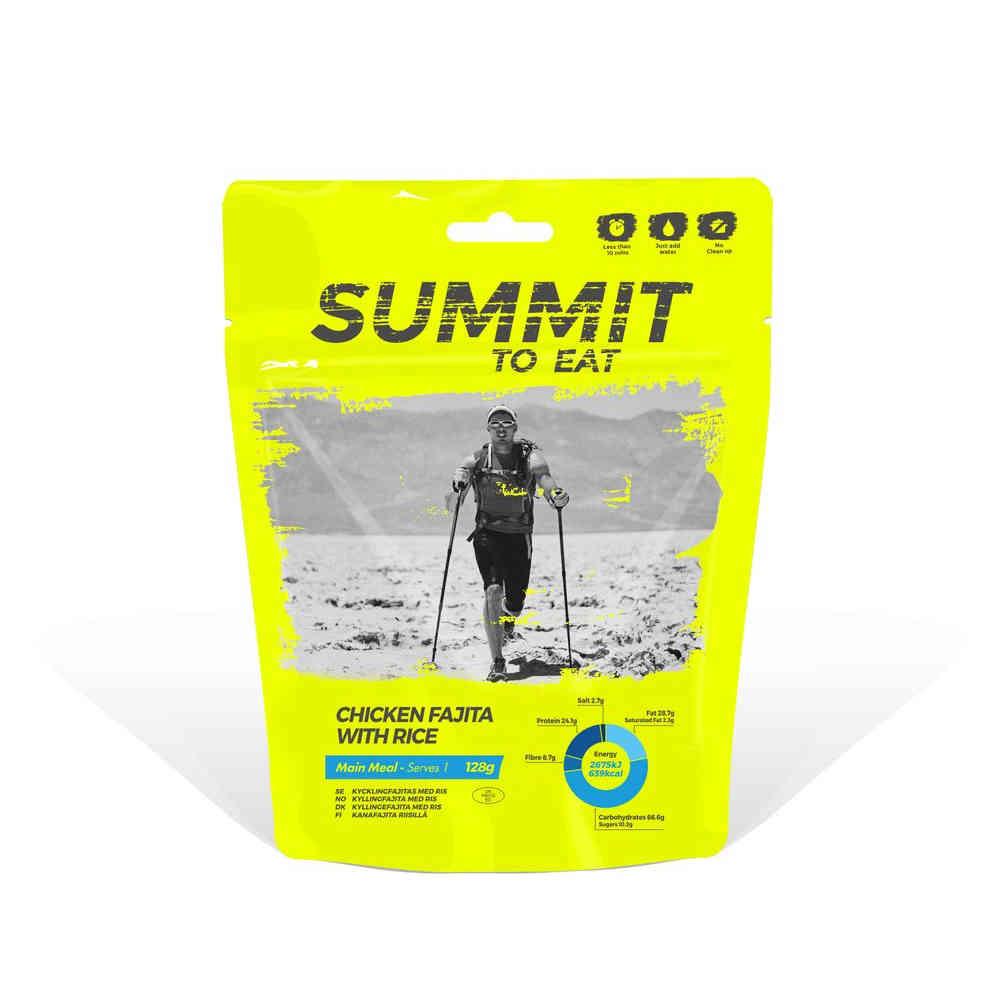 Summit to Eat Kuře Fajita s rýží 128g