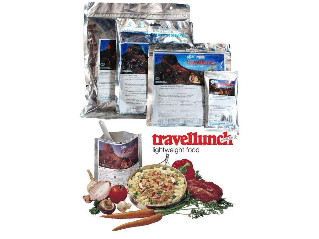 Travellunch Šunka s hráškem a bramborovou kaší 250g