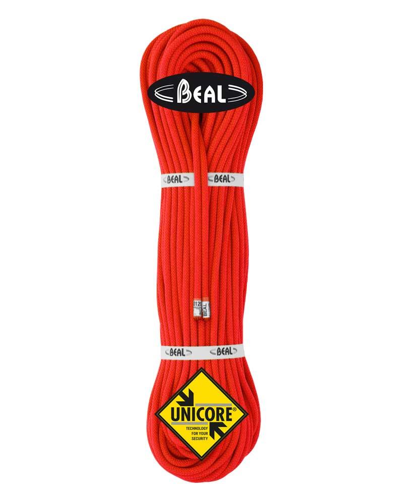Beal Gully 7,3 mm UNICORE - lano Barva: orange, délka: 50, impregnace: golden dry