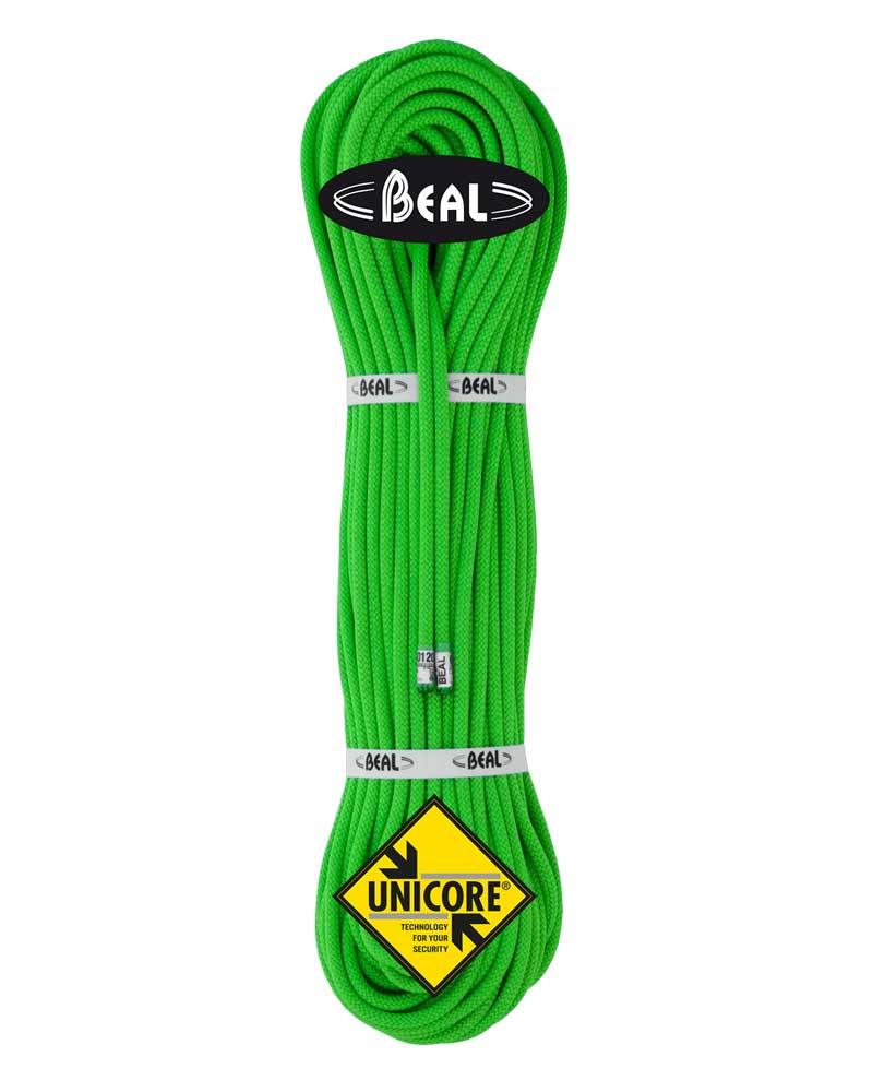 Beal Gully 7,3 mm UNICORE - lano Barva: green, délka: 50, impregnace: golden dry