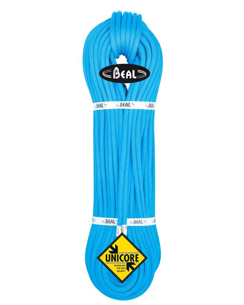 Beal Opera 8,5 mm UNICORE - lano Barva: blue, délka: 50, impregnace: dry cover