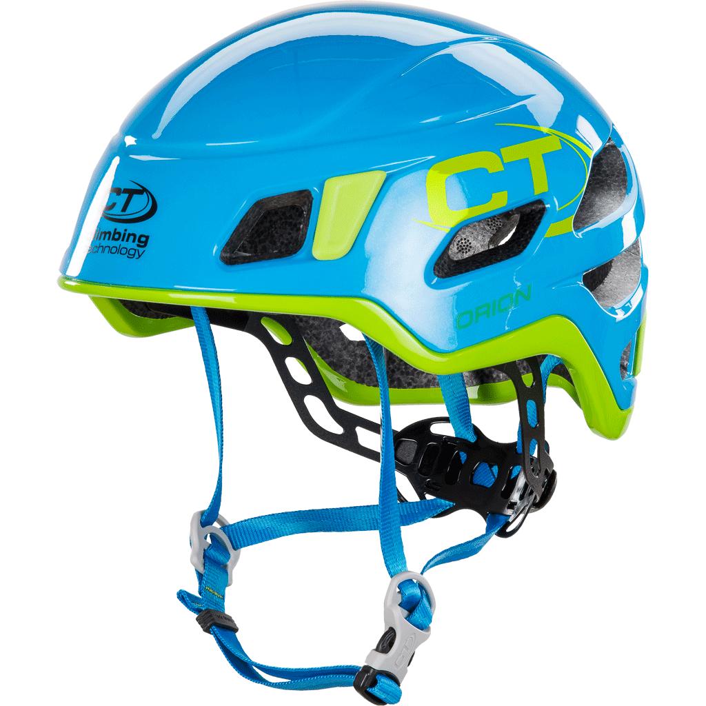 Climbing Technology Orion - horolezecká přilba Barva: light blue / green, Velikost: 50 - 56 cm