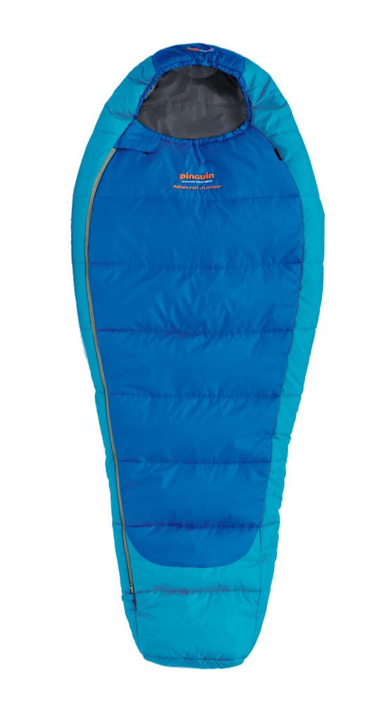 Pinguin Mistral Junior - spacák Barva: blue, délka: 150, Zip: levý