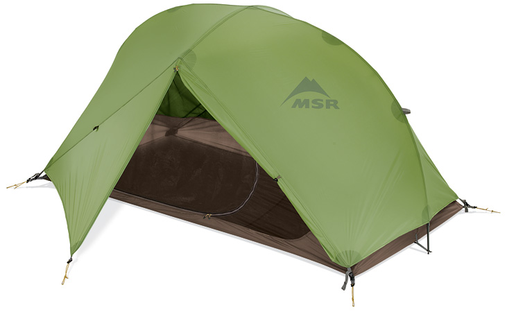 MSR Carbon Reflex 2 - stan Barva: Zeleno-červená