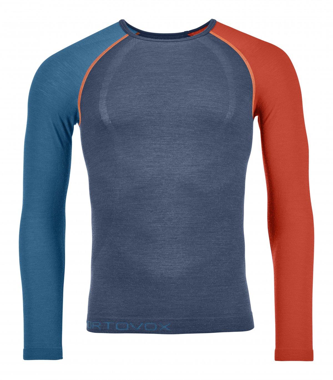 Ortovox 120 Merino Competition Light Long Sleeve M - tričko Barva: night blue, Velikost: M