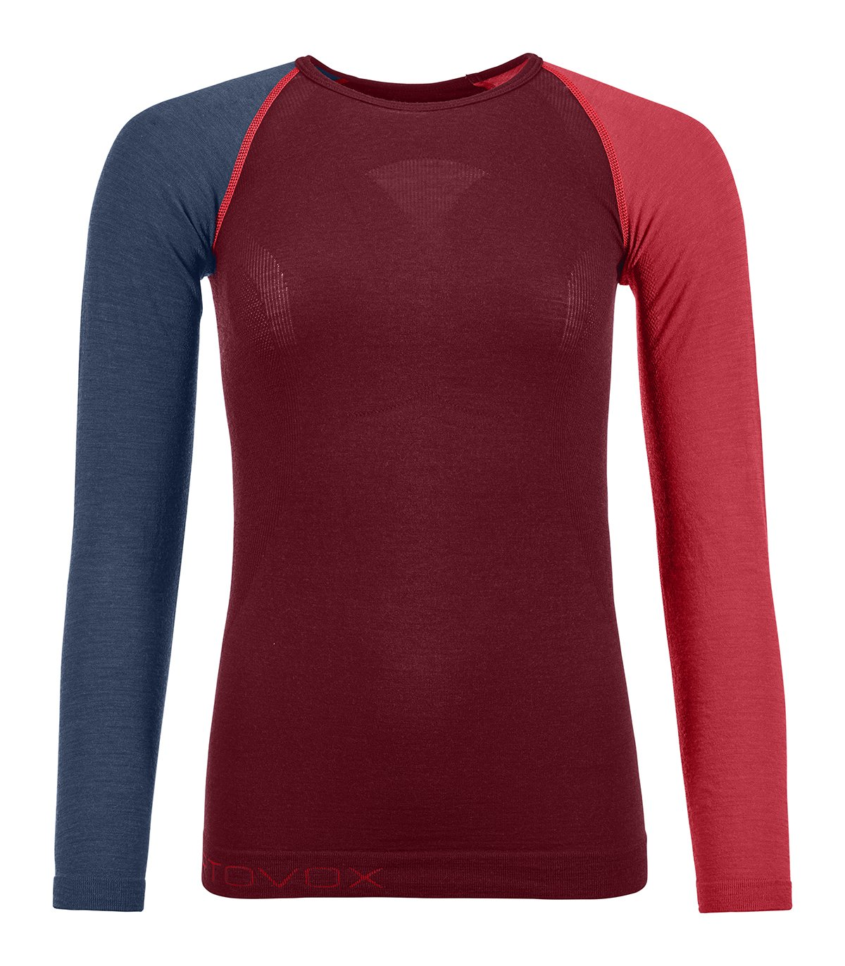 Ortovox 120 Merino Competition Light Long Sleeve W - tričko Barva  dark  blood 2852ae904e
