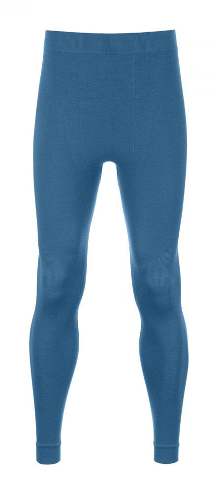 Ortovox 230 Merino Competition Long Pants M - spodky Barva: blue sea, Velikost: M