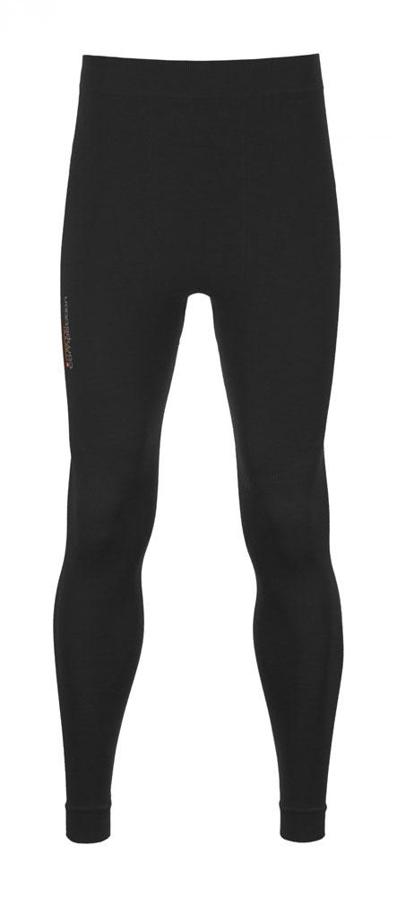 Ortovox 230 Merino Competition Long Pants M - spodky Barva: black raven, Velikost: M