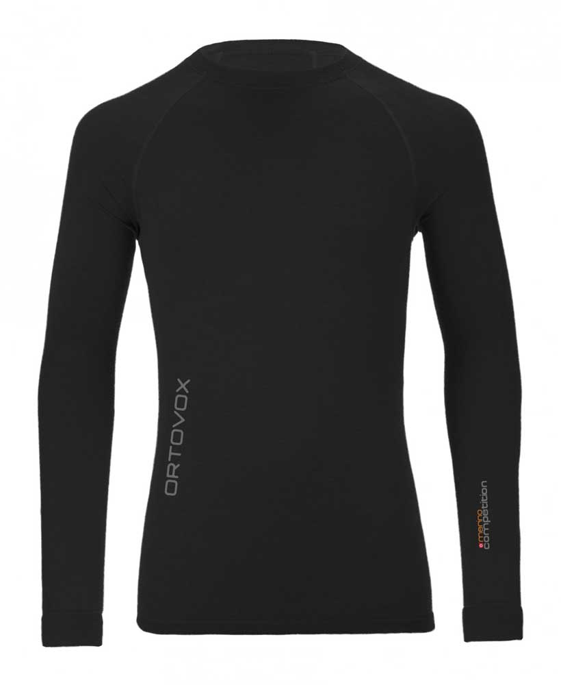 Ortovox 230 Merino Competition Long Sleeve M - tričko Barva: black raven, Velikost: M