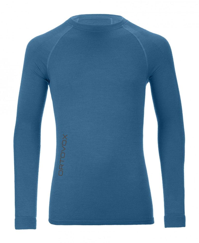 Ortovox 230 Merino Competition Long Sleeve M - tričko Barva: blue sea, Velikost: M