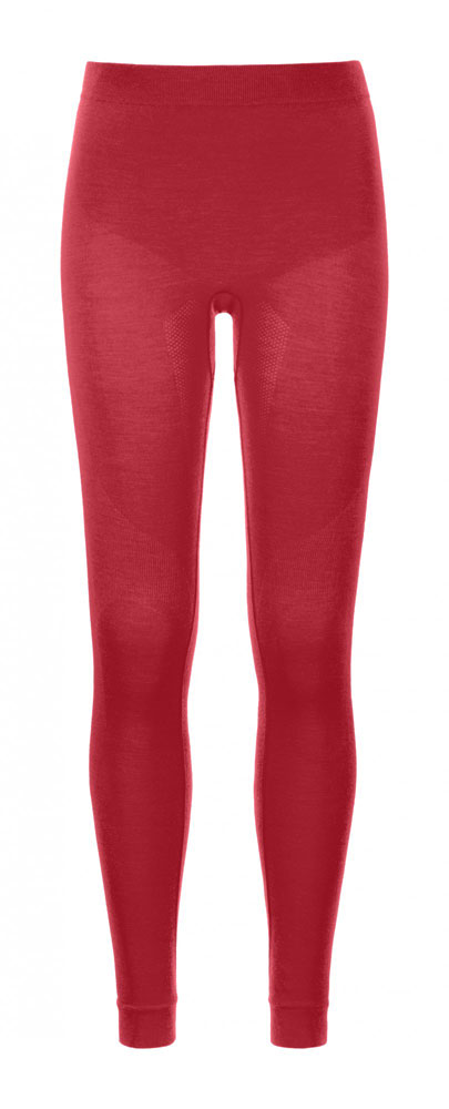 Ortovox 230 Merino Competition Long Pants W - spodky Barva: hot coral, Velikost: S